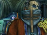 Auron in-game