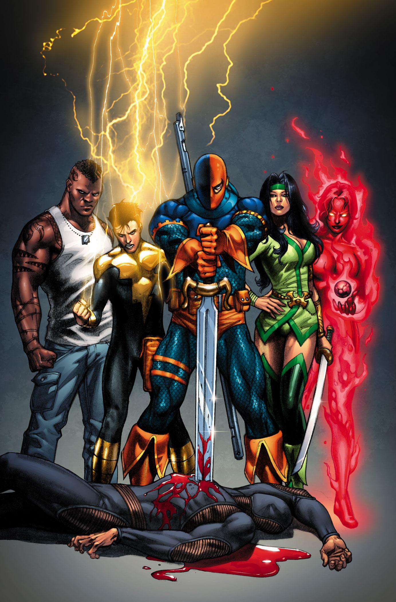 Villains for - Titans Hire Database Comics DC