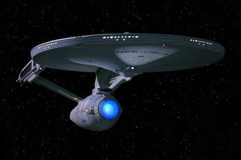 USS Enterprise-A quarter