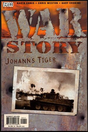 Cover for War Story #1