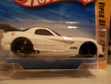 Dodge Viper silver tampo on door and sill