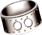 FF7 Platinum bangle