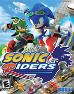 Sonic Riders Coverart