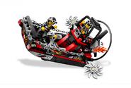 Конструктор Lego 8899 Racers / Лего Гонки Болото аллигатора.