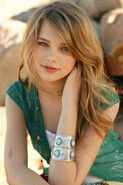Indiana evans as Bella