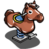 Bouncing Horse-icon