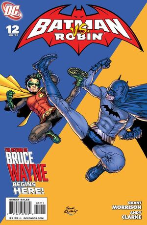 Cover for Batman and Robin #12