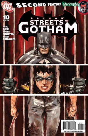 Cover for Batman: Streets of Gotham #10