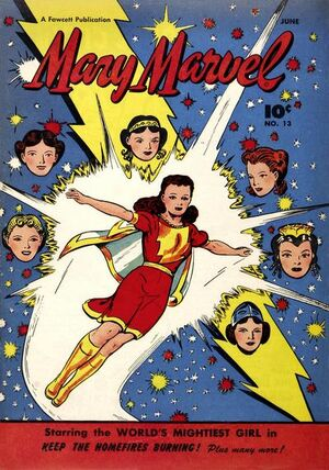 Cover for Mary Marvel #13