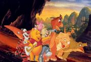Pooh's Adventures of The Land Before Time