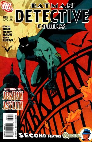 Cover for Detective Comics #864