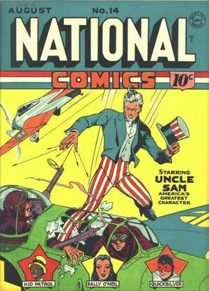 Cover for National Comics #14