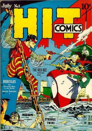 Cover for Hit Comics #1