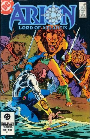 Cover for Arion Lord of Atlantis #16