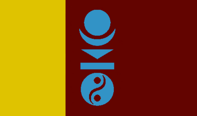 Flag of the Mongol World Empire