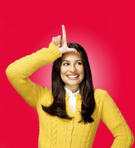 Glee Single Ad Keyart Rachel