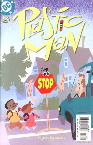 Cover for Plastic Man #14
