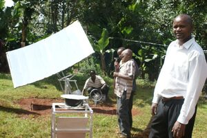 Kenya Solar Concentrator
