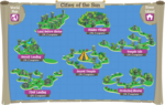 Cities of the Sun map