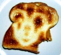 VIRGIN MARY MICKEY MOUSE MIRACLE DISNEY GRILLED CHEESE