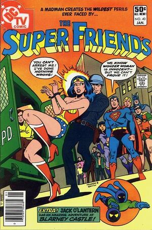 Cover for Super Friends #40