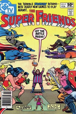 Cover for Super Friends #41