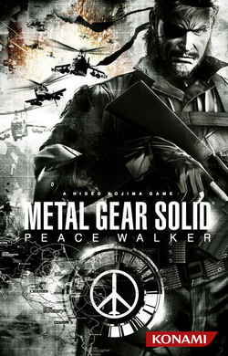 Portada Europea Metal Gear Solid Peace Walker