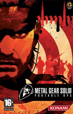 Metal gear portable ops portada