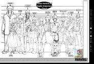 Anime FT Height Comparison