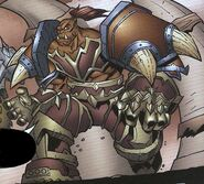 Garrosh Hellscream comic