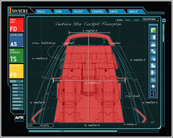 Venture Star Cockpit Floorplan