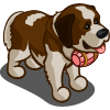 Pink St. Bernard-icon