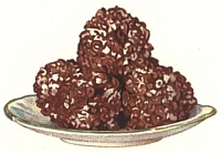 Chocolate popcorn balls
