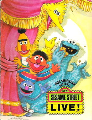 SESAME STREET LIVE MYSTERY COVER