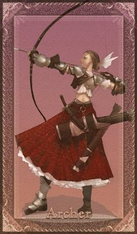 Clase favorita de fate/stay night. Archercard