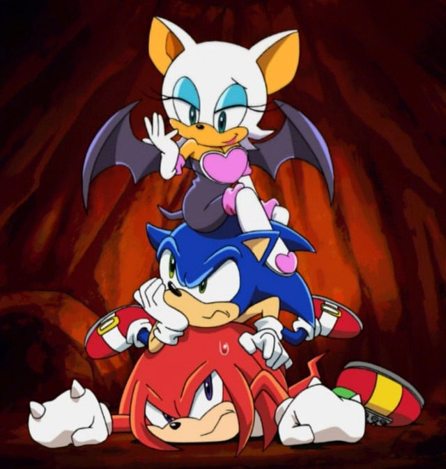 on:Rouge the Bat (Sonic X)