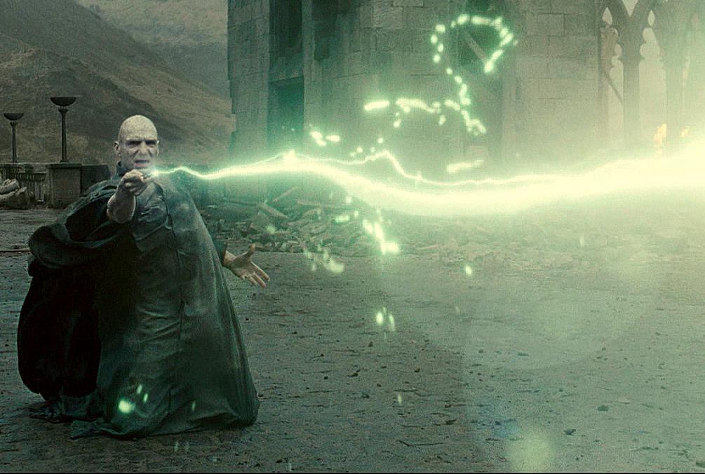 Maldición Avada Kedavra - Harry Potter Wiki