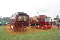 Foden S80 and 72 Key Verbeeck Organ with Paisley and Skilling living van at Cromford IMG 9909