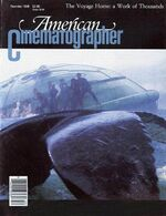 American Cinematographer cover December 1986