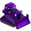 Purple Bulldozer-icon