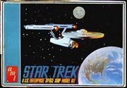 AMT Model kit S951 USS Enterprise 1966