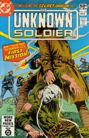 Cover for Unknown Soldier #249