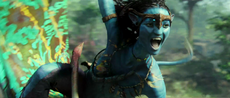 Neytiri Shouting