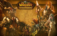 Cataclysm Kalimdor loading screen