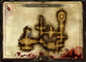 Map-Lower Ruins Spiders
