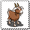 Goat Stamp-icon
