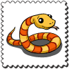 Snake Stamp-icon