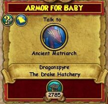 Armor for Baby Part 1