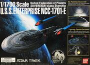 Bandai Model kit 116424 USS Enterprise E 2003