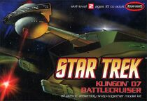 Polar Lights Model kit POL806 Klingon Battle Cruiser 2008